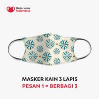 Tyna Kanna Mirdad x Masker untuk Indonesia