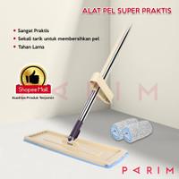 PARIM ALAT PEL LANTAI Ultra Mop Cleanze FREE 2 kain PRM-604
