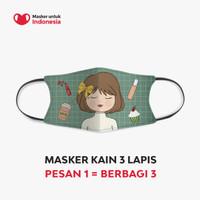 Lizzie Parra x Masker untuk Indonesia