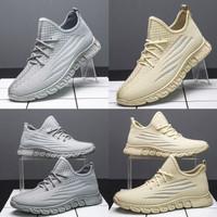 Sepatu Pria Sneakers Cowok Casual Dane and Dine S0325, 2 Pilihan Warna