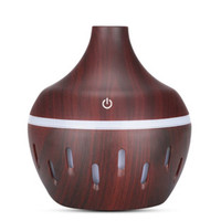 Air Humidifier Aromatherapy Diffuser Wood Design 300ml - JTH-002 - Da