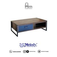 Coffee Table Minimalis Carpenter Coffee Table Melody Meja Tamu 2 sisi