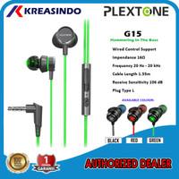 Plextone G15 In-ear Gaming Earphone Headset Original Asli