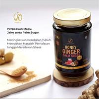 Hermofit Honey Ginger Palm Sugar Madu Asli Plus Irisan Jahe Gula Aren