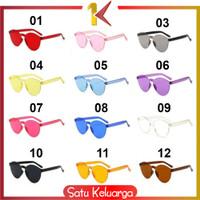 SK-C93-95 Part 1 Kacamata Fashion Wanita Kekinian / Kacamata Transpar - C94 PART A, 01