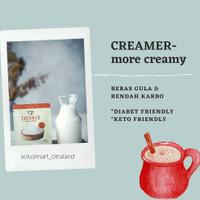 Bubuk Creamer rendah kalori keto friendly