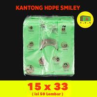 Kantong Plastik Kresek Warna-Warni Tebal UK 15x33 HDPE