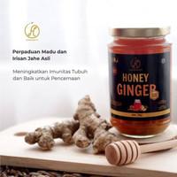 Madu Murni Plus Jahe Asli HERMOFIT Honey Ginger Sistem Imun Tubuh