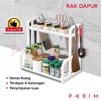 PARIM RAK BUMBU DAPUR perlengkapan dapur rak dapur MULTIFUNGSI PRM-205