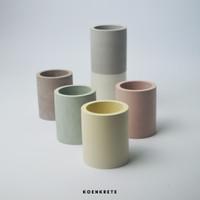 Tere | Round Concrete Planter | Pot Concrete | Pot Kaktus Mini