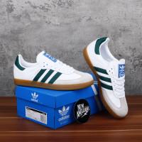 Adidas Samba OG White Green Putih Hijau Sole Gum BNIB