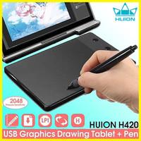 Graphics HUION H420 DKV USB signature Tablet drawing pen OSU Komputer