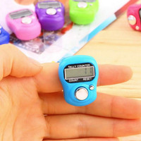 Tasbih Digital LED Mini Finger Counter Penghitung Tally Jari Ngaji