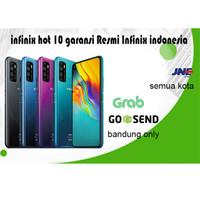 infinix Hot 10 ram 4 / 64 gb helio G70T 5200mAh gaming banget