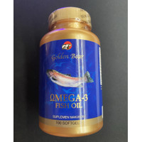Golden Bear Omega 3 Fish Oil 1000mg / 1000 mg Isi 100 Softgels