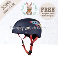 ELC Micro Helmet Retro Rocket Helm Anak