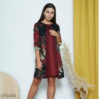 Chiara Dress Standar - Dress Batik Wanita Terusan Wanita