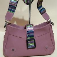 tas wanita/tas selempang kulit jeruk premium