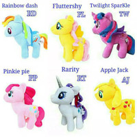 BONEKA MY LITTLE PONY ukuran M - TWILIGHT