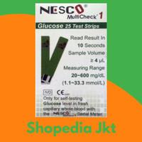 Strip Gula Darah Nesco / Strip Nesco Gula Darah isi 25
