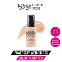 Make Over Powerstay Weightless Liquid Foundation N30 Natural Beige 33m - W30 Creme Beige