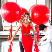 Balon Latex Doff Merah Jumbo / Balon Latex Doff / Balon Doff Jumbo