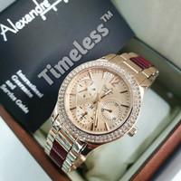 jam tangan wanita alexandre christie ac 2463 BF (guess bonia fossil)