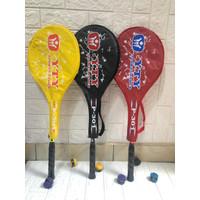 Raket badminton YTY FREE COVER + GRIP