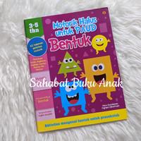 Buku Motorik Halus untuk PAUD 3-5 tahun Bentuk Aktivitas Motorik