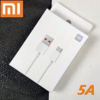 ORIGINAL KABEL DATA POCO X3 NFC TYPE C 5A TURBO CHARGE 33W