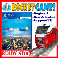 PS4 A-Train Exp+ / A Train Express+ Reg3
