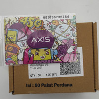 Kartu perdana axis 0k