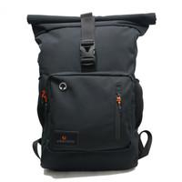 Tas Ransel Backpack Gulung Rolltop Urban Factor Imortal Black Original