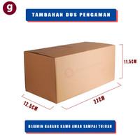 Kotak Kardus Packing - Dus Packing - Kotak Kardus   22 X 12,5 X 11,5