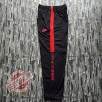 Training nike model terbaru bahan diadora Trening murah Celana joging - Hitam-Merah, L
