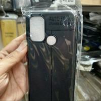 auto focus case oppo a53 2020 tpu leather sarung hp kulit jeruk
