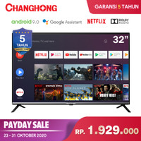 Changhong Google certified Android Smart TV 32 inch 32H4 LED TV-L32H4