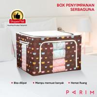 PARIM Box Organizer Box Penyimpanan baju Ukuran 66 Liter PRM-301