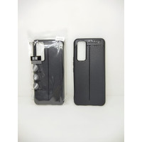 "AutoFocus Vivo V20 SE 6.44"" Leather SoftCase AutoFokus VIVO V20 SE"