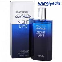 Parfum Original Pria Davidoff Cool Water Night Dive