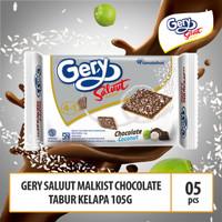 Malkist Coklat Tabur Kelapa - 105g (MACC2) 5 Pcs By Garudafood
