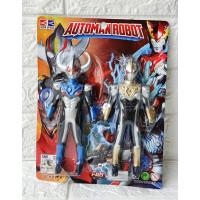 Mainan Robot Ultraman Automan Robot No. R1128