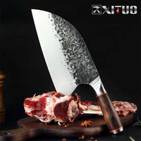 XITUO Pisau Dapur Chef Knife Cleaver Wide 8 Inch - LZJ-9