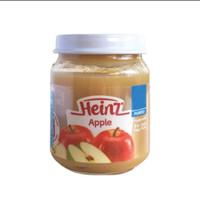 MPASI 6 Bulan Heinz Apple Apel Bubur Bayi Puree Buah Asli Snack