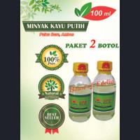 Minyak Kayu Putih 100 ml, Paket hemat 2 botol