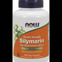 Now Foods Double Strength Silymarin 300 mg 200Veg Capsules