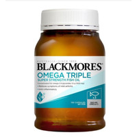 OMEGA TRIPLE,BLACKMORES ANTI INFLAMMATORY FISH OIL 150 CAPS