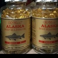K-MAX ALASKA DEEP SEA FISH OIL OMEGA 3,6,9 TUTUP PUTIH