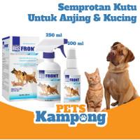Semprotan obat Kutu anjing kucing BIS Front Best in Show flea treatmen