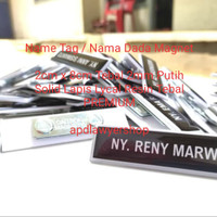 Name Tag Id Card Papan Nama Dada Name Tag Nama Dada Gravo Magnet